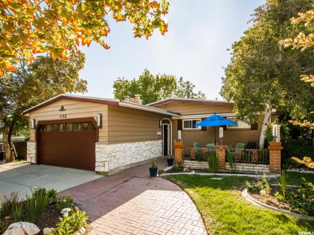 Home for sale at 1752 Laurelhurst, Salt Lake City, UT  84108. Listed at 535000 with 4 bedrooms, 2 bathrooms and 3,142 total square feet