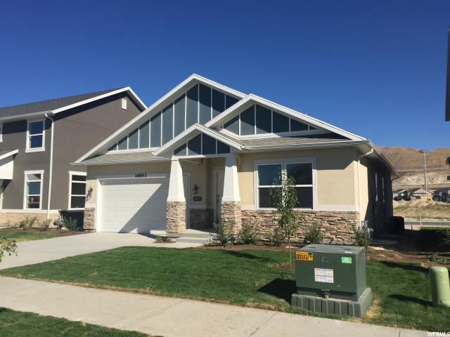 Single Family for Sale at 14893 S SLICK HORN CV 14893 S SLICK HORN CV Unit: 349 Bluffdale, Utah 84065 United States