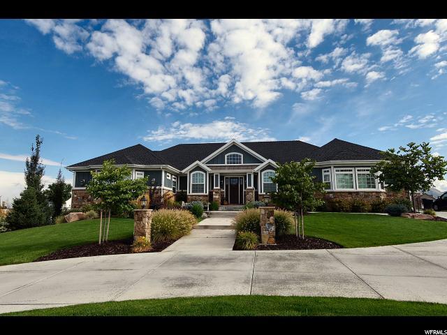 单亲家庭 为 销售 在 1754 W HERITAGE RANCH Drive Farr West, 犹他州 84404 美国