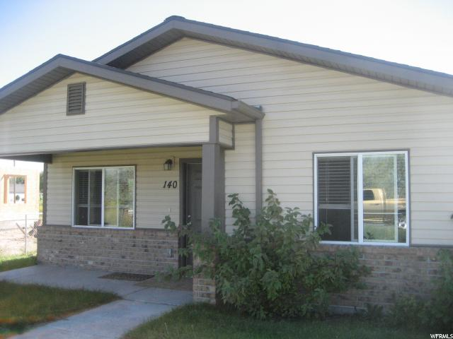 Single Family for Sale at 140 E 100 N Myton, Utah 84052 United States