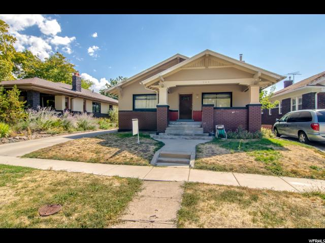 Home for sale at 768 E Emerson Ave, Salt Lake City, UT  84105. Listed at 300000 with 2 bedrooms, 1 bathrooms and 1,587 total square feet