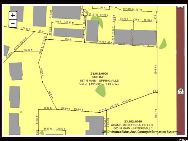 687 N MAIN STREET ST Springville, UT 84663 - MLS #: 1410143