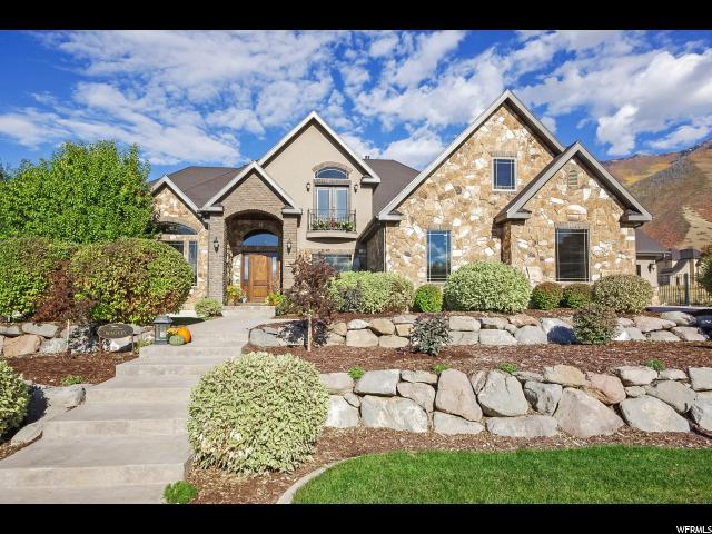 Casa Unifamiliar por un Venta en 2523 S BRUSH CANYON Drive Mapleton, Utah 84664 Estados Unidos