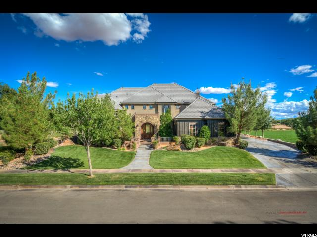 Single Family for Sale at 860 N RIVERWOOD Lane Santa Clara, Utah 84765 United States