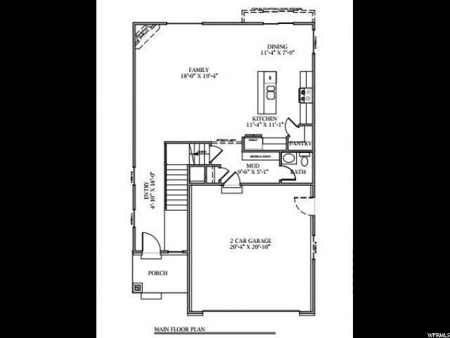 4546 W BREEZY MEADOW DR Unit RM099 Herriman, UT 84096 - MLS #: 1412315