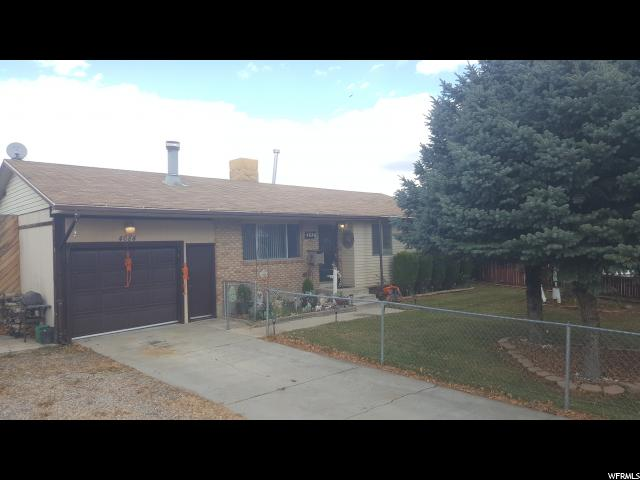 Unifamiliar por un Venta en 4684 W 5865 S Kearns, Utah 84118 Estados Unidos
