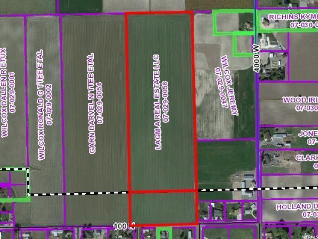 Terrain pour l Vente à 150 W 100 N Fielding, Utah 84311 États-Unis