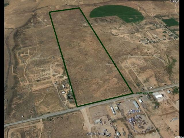 Land for Sale at 4126 E HIGHWAY 40 Ballard, Utah 84066 United States