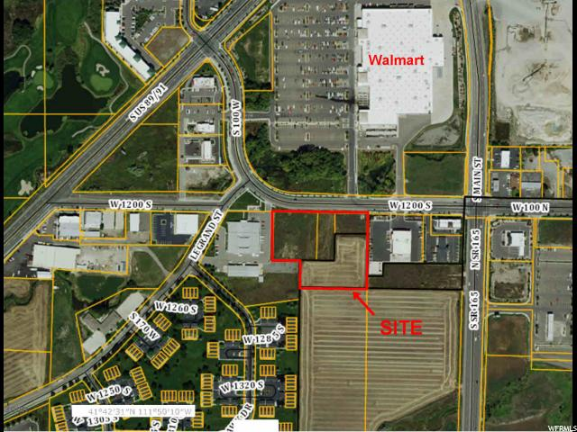 Land for Sale at 86 W 1200 S Logan, Utah 84321 United States