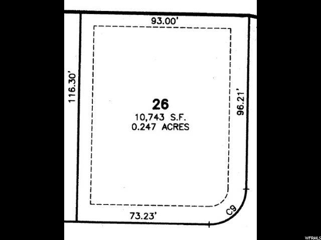 26 LOT WASHINGTON VISTA Washington, UT 84780 - MLS #: 1414506
