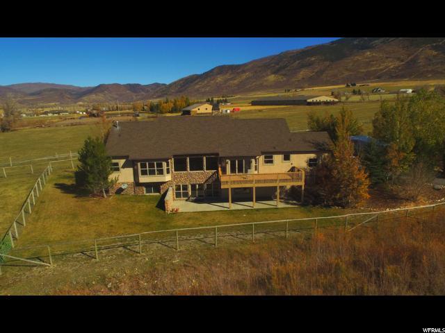 Unique la famille pour l Vente à 551 E 2700 N Marion, Utah 84036 États-Unis