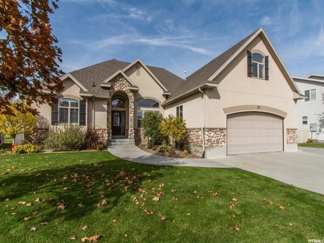 单亲家庭 为 销售 在 39 E FAIRWAY Drive 斯坦斯伯里帕克, 犹他州 84074 美国