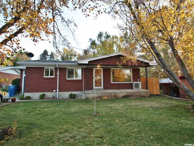 Single Family for Sale at 815 40TH Street South Ogden, Utah 84403 United States