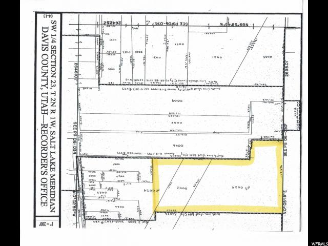 Land for Sale at 300 N 1550 W West Bountiful, Utah 84087 United States