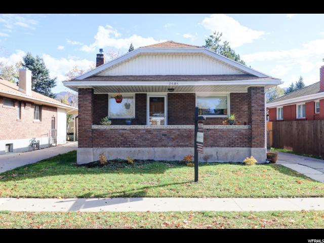 单亲家庭 为 销售 在 2585 S 500 E 盐湖城市, 犹他州 84106 美国