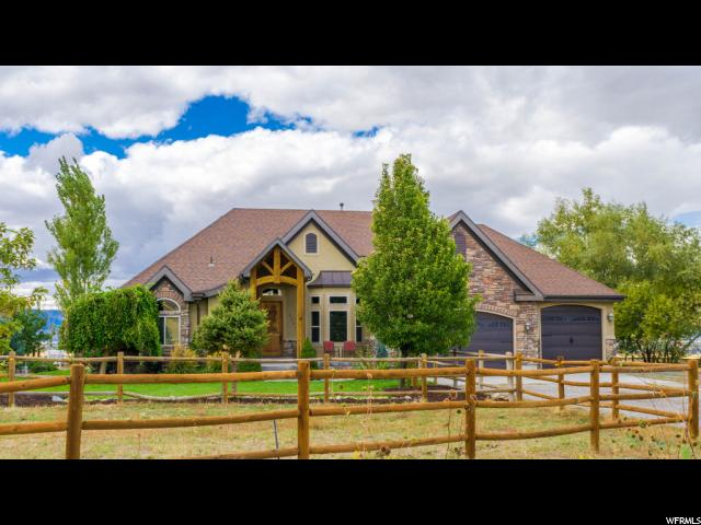 Single Family for Sale at 3201 N PRONGHORN Road Erda, Utah 84074 United States