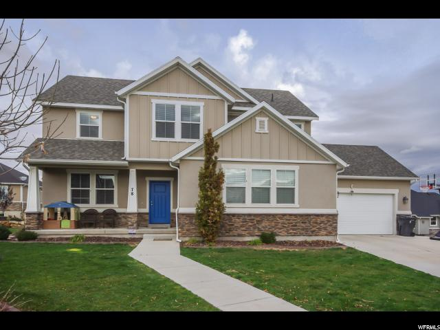 Single Family for Sale at 78 E WINDLASS Road Saratoga Springs, Utah 84045 United States