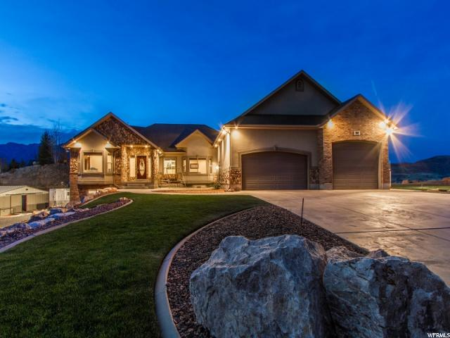Single Family for Sale at 5913 S SAGE CREST Road Mountain Green, Utah 84050 United States