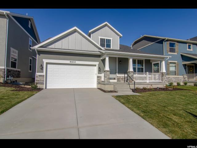 Single Family for Sale at 6612 W TERRACE WASH Lane 6612 W TERRACE WASH Lane Unit: 119 West Jordan, Utah 84081 United States