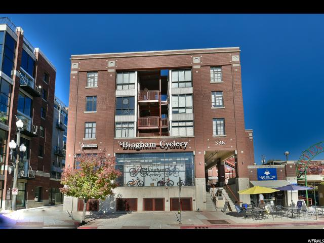 Home for sale at 336 W Broadway #206, Salt Lake City, UT  84101. Listed at 219900 with 2 bedrooms, 1 bathrooms and 536 total square feet