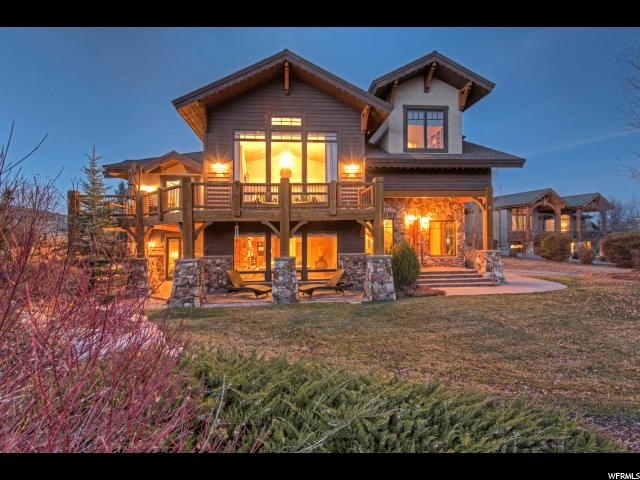 Single Family for Sale at 6140 TRAILSIDE Drive Park City, Utah 84098 United States