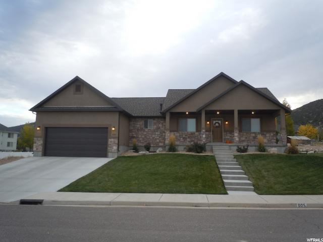 单亲家庭 为 销售 在 905 S 950 E Ephraim, 犹他州 84627 美国