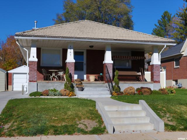 Home for sale at 1567 E 1700 South, Salt Lake City, UT  84105. Listed at 328500 with 2 bedrooms, 2 bathrooms and 1,536 total square feet