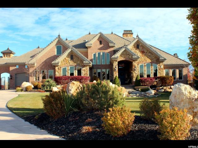 Один семья для того Продажа на 13021 S RIVERBEND VIEW CV Riverton, Юта 84065 Соединенные Штаты