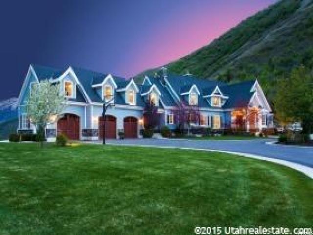 Unifamiliar por un Venta en 2134 S L FORK HOBBLE CREEK CYN Springville, Utah 84663 Estados Unidos