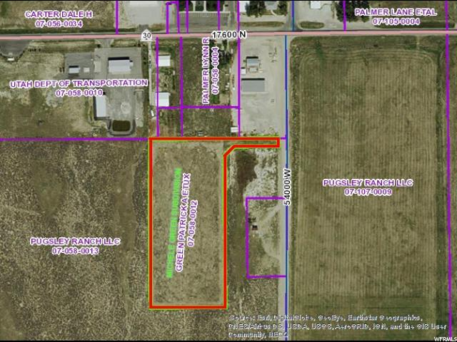 Land for Sale at 17575 N 54000 W Park Valley, Utah 84329 United States