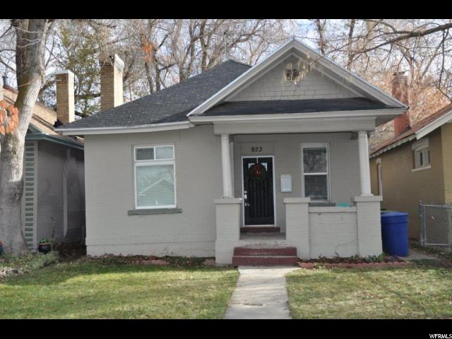 Home for sale at 923 S 400 East, Salt Lake City, UT  84111. Listed at 250000 with 3 bedrooms, 1 bathrooms and 1,010 total square feet