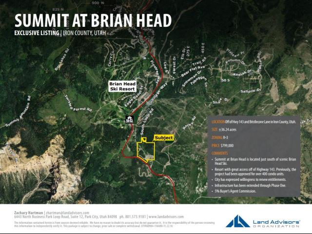 Land for Sale at Address Not Available Brian Head, Utah 84719 United States