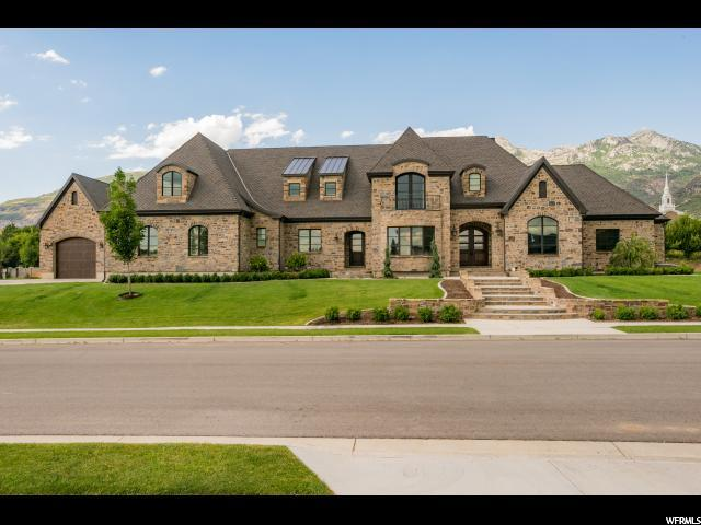 Single Family for Sale at 1093 E QUAIL HOLLOW Drive Alpine, Utah 84004 United States