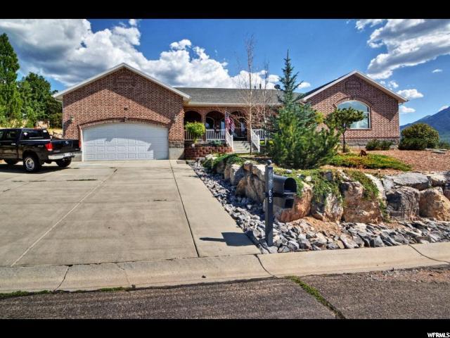 Single Family for Sale at 65 W COLEY'S CV Elk Ridge, Utah 84651 United States