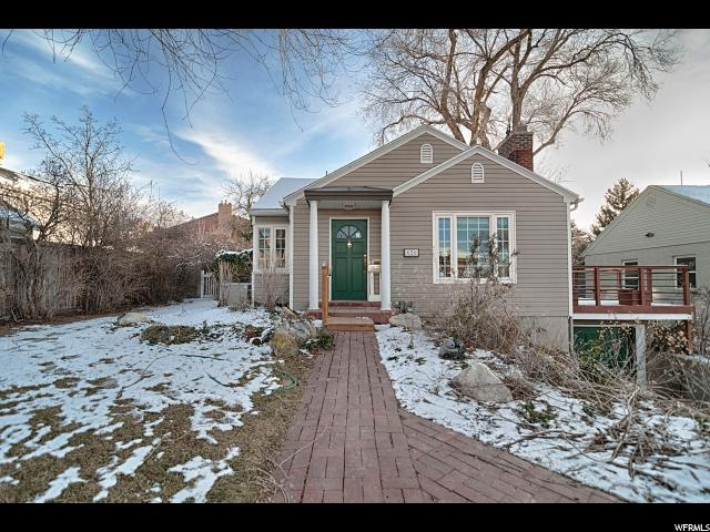 Home for sale at 626 F St, Salt Lake City, UT  84103. Listed at 424900 with 4 bedrooms, 2 bathrooms and 2,020 total square feet