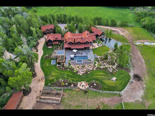 Single Family for Sale at 1401 W TWO CREEKS Circle Park City, Utah 84098 United States