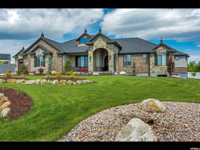 Single Family for Sale at 14708 S BOULDEN LAKE CV Bluffdale, Utah 84065 United States