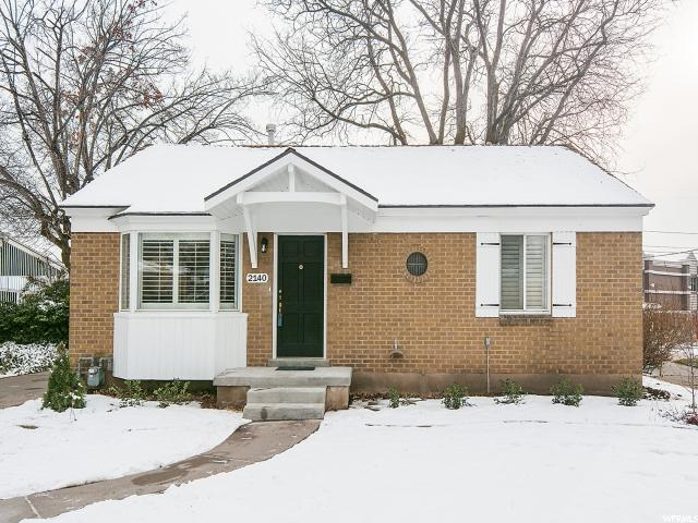 Home for sale at 2140 E Westminster  Ave, Salt Lake City, UT 84108. Listed at 429000 with 4 bedrooms, 2 bathrooms and 1,986 total square feet