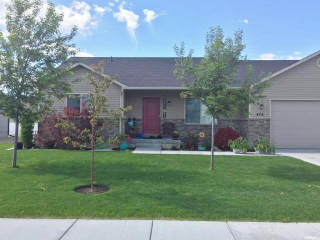 Single Family for Sale at 476 E 1325 S Garland, Utah 84312 United States
