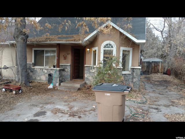 Home for sale at 257 E Kelsey Ave, Salt Lake City, UT  84111. Listed at 190000 with 2 bedrooms, 1 bathrooms and 973 total square feet