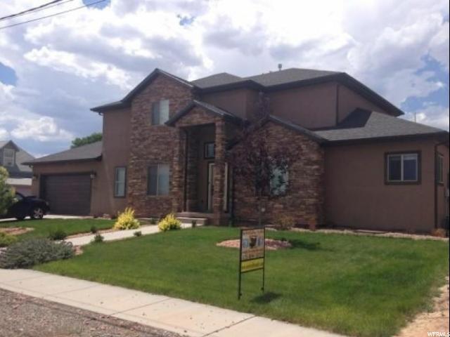 单亲家庭 为 销售 在 245 N 600 E Richfield, 犹他州 84701 美国