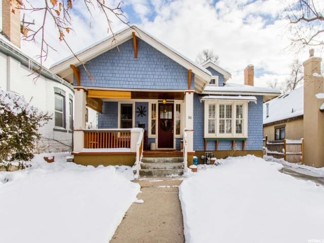 Home for sale at 186 N R St, Salt Lake City, UT 84103. Listed at 425000 with 3 bedrooms, 2 bathrooms and 2,228 total square feet