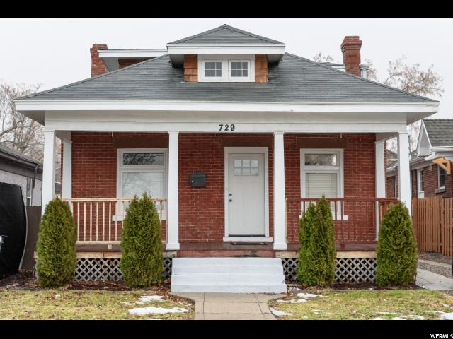 Home for sale at 729 S 500 East, Salt Lake City, UT 84102. Listed at 349999 with 4 bedrooms, 3 bathrooms and 2,298 total square feet
