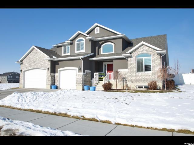 单亲家庭 为 销售 在 3112 W 550 N West Point, 犹他州 84015 美国