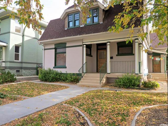 Home for sale at 130 N F St, Salt Lake City, UT  84103. Listed at 449000 with 4 bedrooms, 3 bathrooms and 3,147 total square feet
