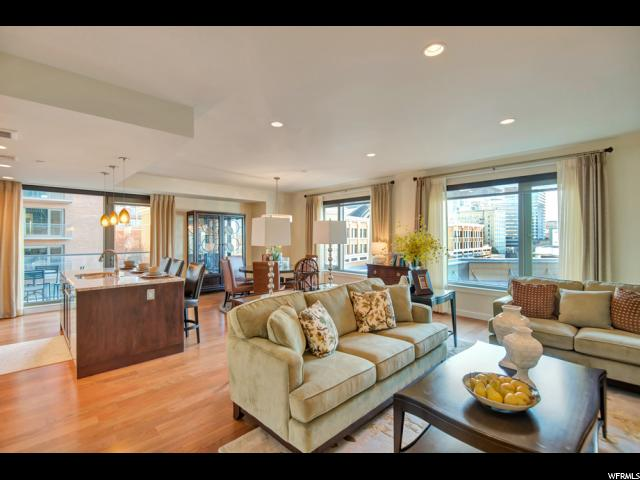 Home for sale at 55 W South Temple St #504, Salt Lake City, UT  84101. Listed at 959000 with 2 bedrooms, 2 bathrooms and 1,830 total square feet