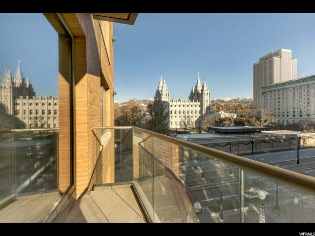 Home for sale at 55 W South Temple St #502, Salt Lake City, UT  84101. Listed at 595000 with 2 bedrooms, 2 bathrooms and 1,190 total square feet