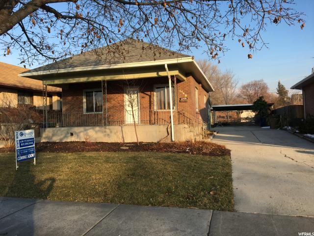Home for sale at 1749 S 800  E St, Salt Lake City, UT  84105. Listed at 300000 with 3 bedrooms, 1 bathrooms and 1,250 total square feet