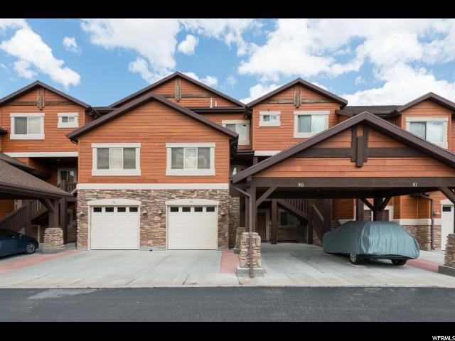Maison accolée pour l Vente à 6486 E HWY 39 S 6486 E HWY 39 S Unit: 76 Huntsville, Utah 84317 États-Unis