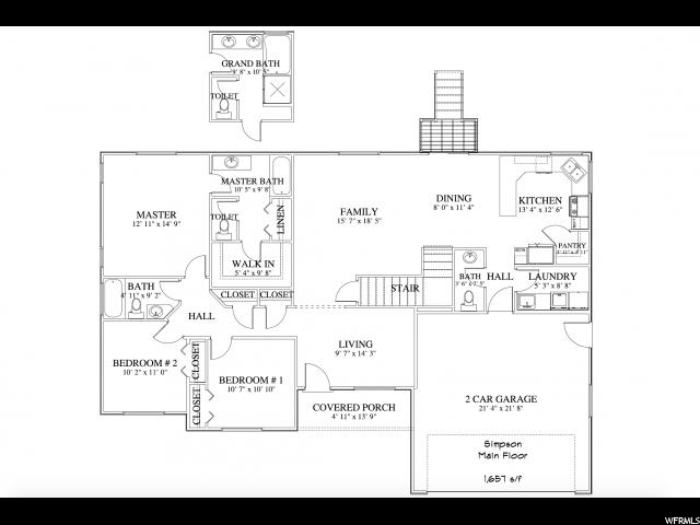 7178 N PAWNEE RD Unit 1 Eagle Mountain, UT 84005 - MLS #: 1427567